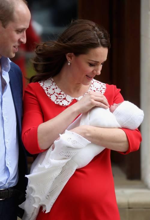 Kate Middleton e il Principe William col Royal Baby 6