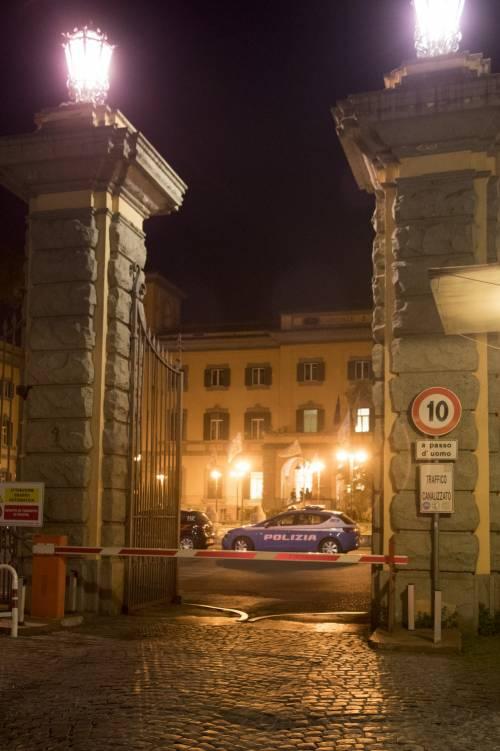 L'ospedale San Camillo di Roma dove è ricoverato Napolitano