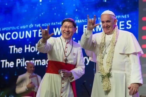 Quella marcia del cardinale per solidalizzare con i migranti