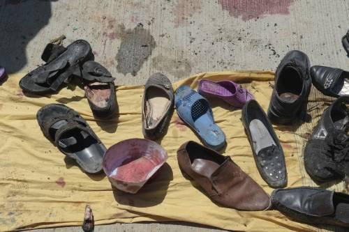 Attentato al centro di registrazione a Kabul 3