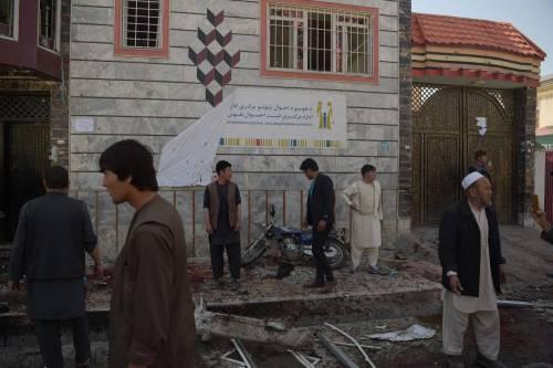 Attentato al centro di registrazione a Kabul 4
