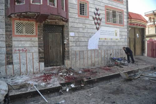 Attentato al centro di registrazione a Kabul 6