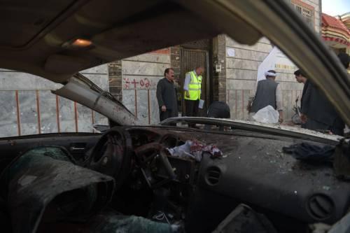 Attentato al centro di registrazione a Kabul 7