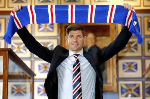 Steven Gerrard allenerà il Glasgow Rangers