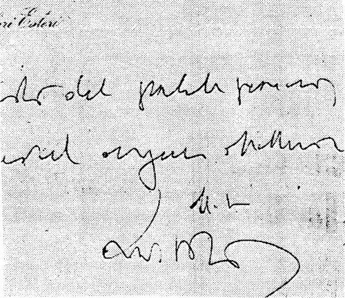 La grafia di Moro durante il sequestro delle Br