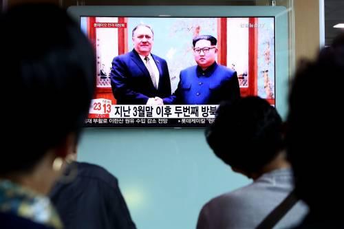 Pompeo vola da Kim Jong-un: tornerà a casa coi tre prigionieri americani