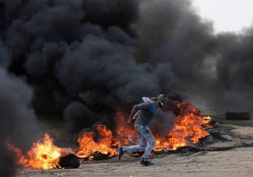 Ambasciata Usa a Gerusalemme, tornano gli scontri a Gaza 4