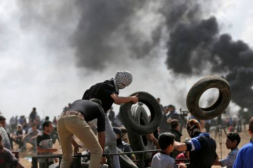 Ambasciata Usa a Gerusalemme, tornano gli scontri a Gaza 6