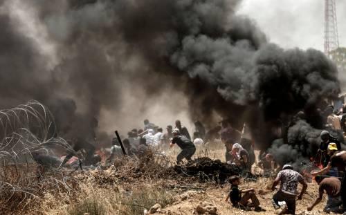 Ambasciata Usa a Gerusalemme, scontri a Gaza 2