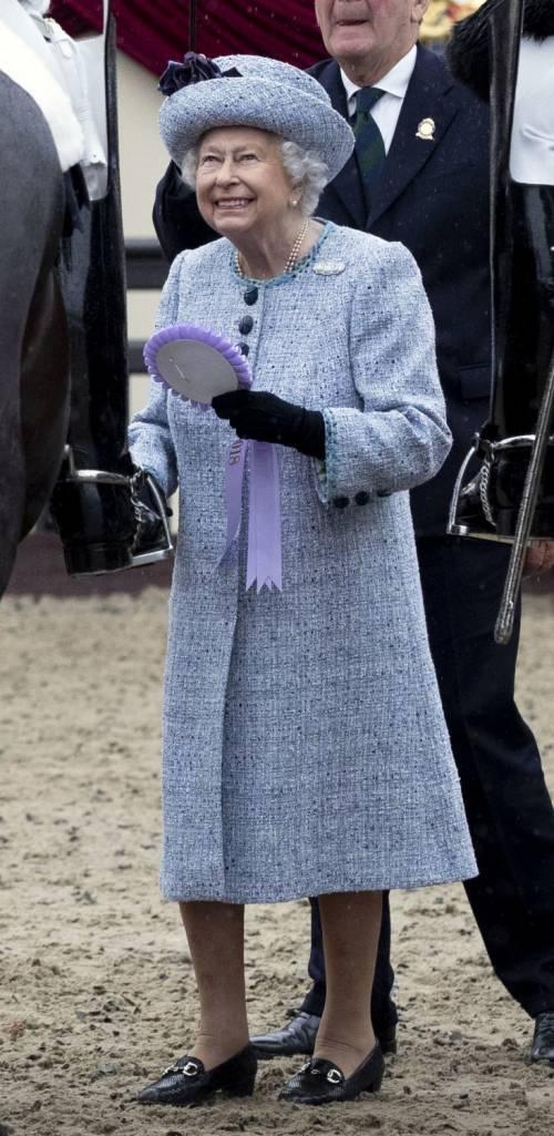 Principe Filippo in auto per l'Horse Show 6