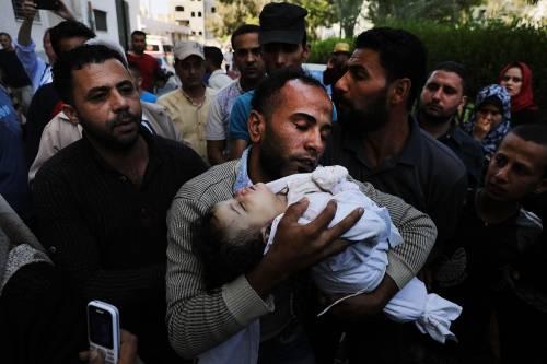 Leila Anwar Ghandoor, neonata uccisa a Gaza