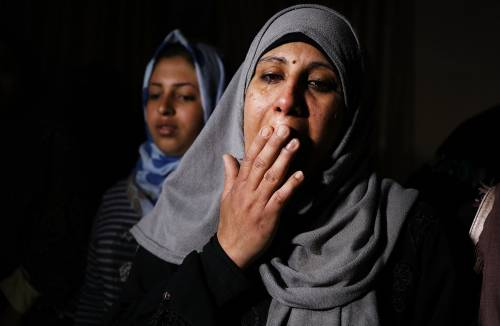I funerali a Gaza di Leila, uccisa a otto mesi 2