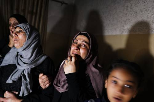 I funerali a Gaza di Leila, uccisa a otto mesi 3