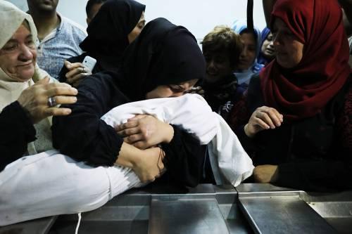 I funerali a Gaza di Leila, uccisa a otto mesi 5