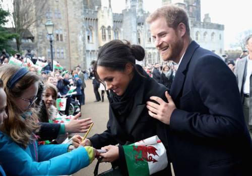 Meghan Markle e il Principe Harry, la storia romantica 1