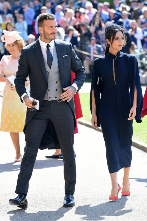 Royal Wedding 2018: Victoria Beckham e David Beckham  2