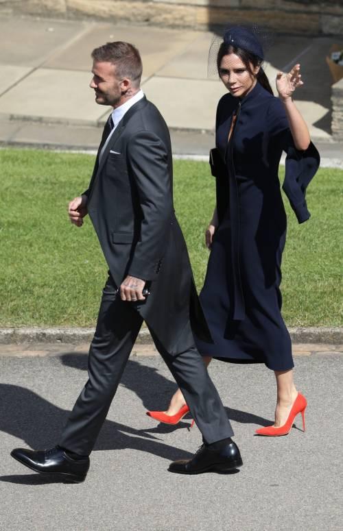 Royal Wedding 2018: Victoria Beckham e David Beckham  8