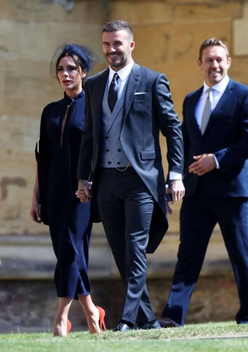 Royal Wedding 2018: Victoria Beckham e David Beckham  9