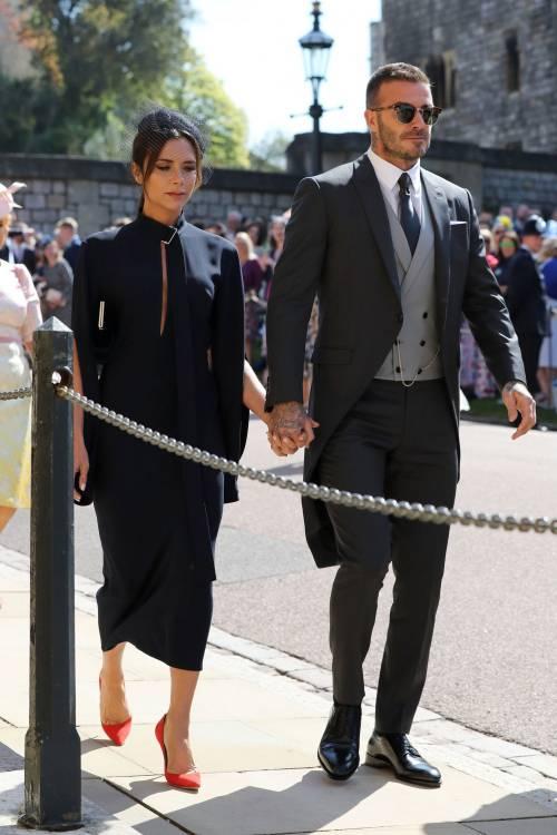 Royal Wedding 2018: Victoria Beckham e David Beckham  3