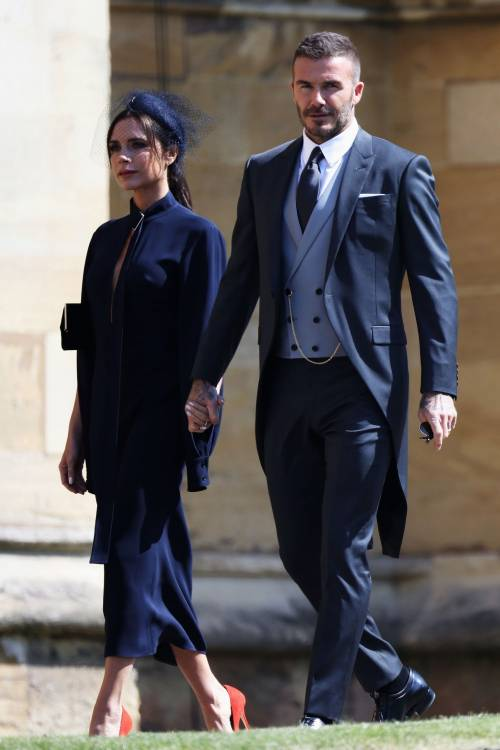 Royal Wedding 2018: Victoria Beckham e David Beckham  5