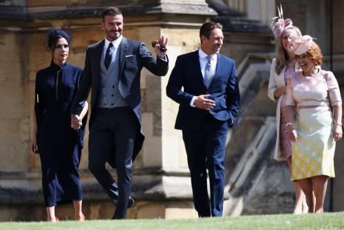 Royal Wedding 2018: Victoria Beckham e David Beckham  6