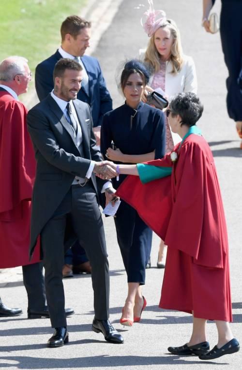Royal Wedding 2018: Victoria Beckham e David Beckham  7