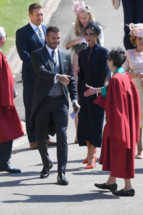 Royal Wedding 2018: Victoria Beckham e David Beckham  10