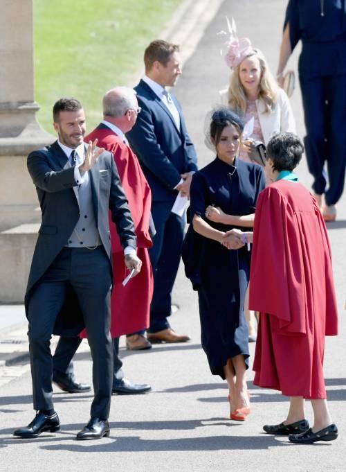 Royal Wedding 2018: Victoria Beckham e David Beckham  11