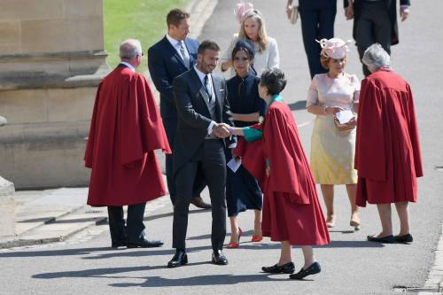 Royal Wedding 2018: Victoria Beckham e David Beckham  12
