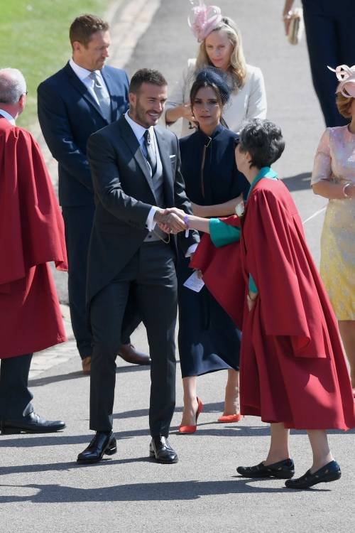 Royal Wedding 2018: Victoria Beckham e David Beckham  13