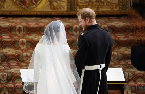 Royal Wedding: Harry e Meghan insieme all'altare 10