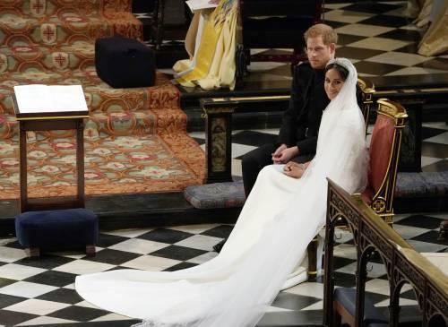 Royal Wedding: Harry e Meghan insieme all'altare 5