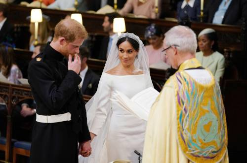 Royal Wedding: Harry e Meghan insieme all'altare 8