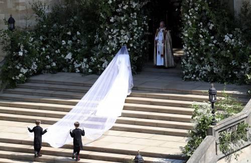 Royal Wedding: i principini come paggetti 4