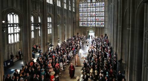 Royal Wedding: i principini come paggetti 6