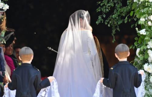 Royal Wedding: i principini come paggetti 8