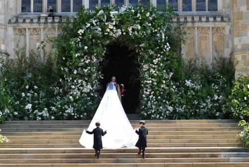 Royal Wedding: i principini come paggetti 9