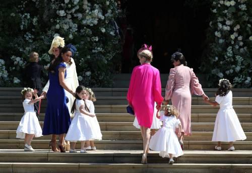 Royal Wedding: i principini come paggetti 10