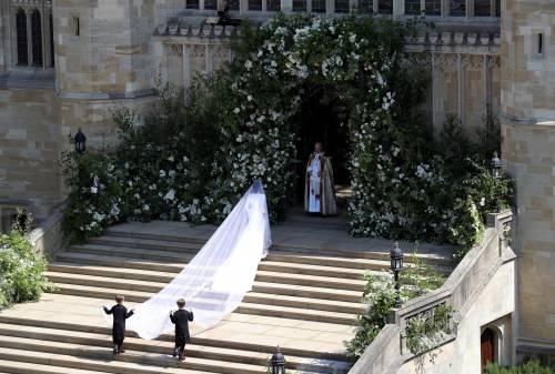 Royal Wedding: i principini come paggetti 11