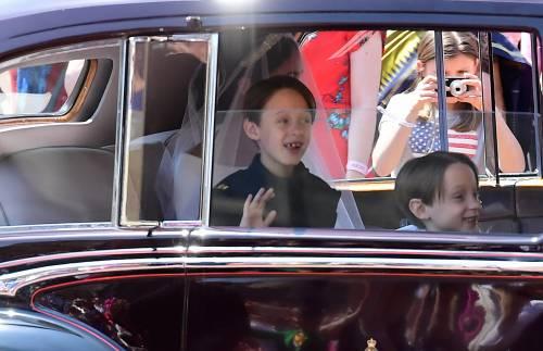 Royal Wedding: i principini come paggetti 13