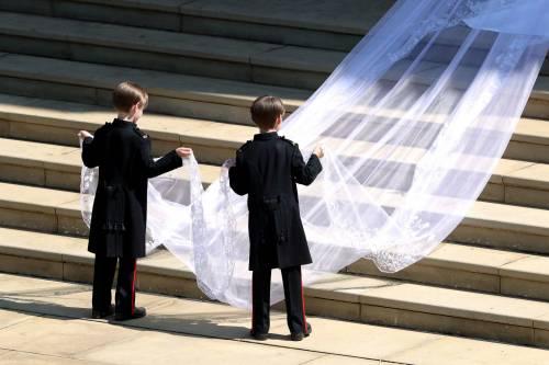 Royal Wedding: i principini come paggetti 14
