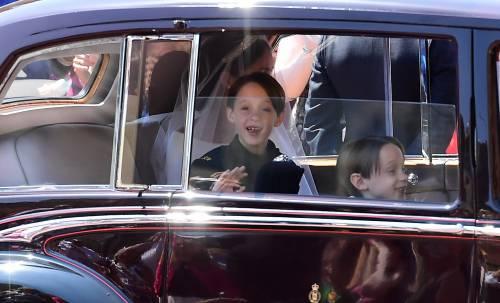 Royal Wedding: i principini come paggetti 15