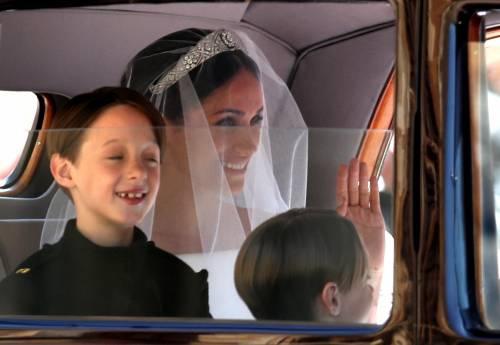 Royal Wedding: i principini come paggetti 2