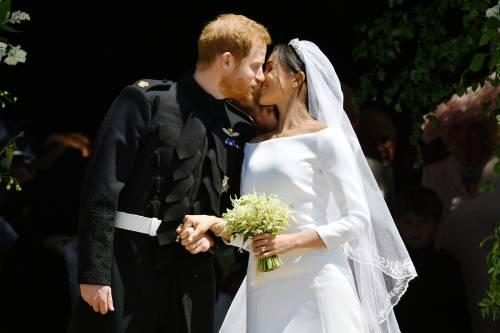 I momenti più belli del matrimonio tra Meghan ed Harry 12