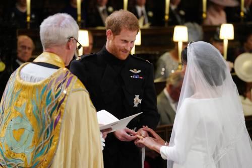 I momenti più belli del matrimonio tra Meghan ed Harry 11