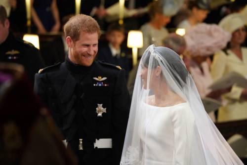 I momenti più belli del matrimonio tra Meghan ed Harry 8