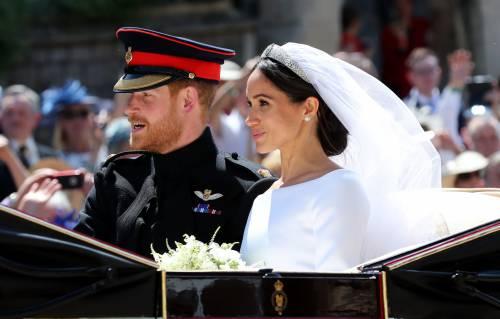 I momenti più belli del matrimonio tra Meghan ed Harry 13