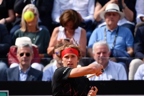 Roland Garros : bene Zverev, vince Berrettini, subito fuori Ostapenko