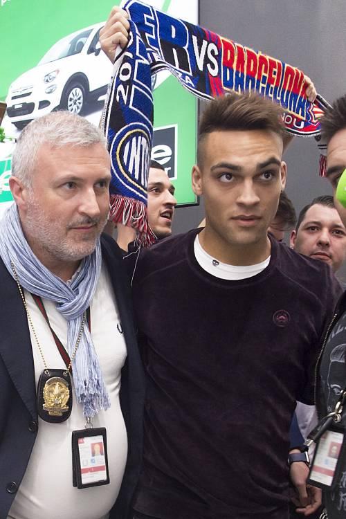 Inter, Lautaro Martinez sbarca a Milano: le foto del giovane attaccante nerazzurro 7