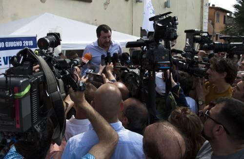 """Lo Spiegel contro Salvini: """"In Germania ha contatti non proprio democratici"""""""